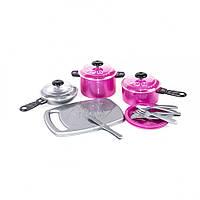 Набір посуду Iriska 1 348OR (Малиновый)