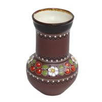 """Кринка """"Кераміка Вишенька"""" (глиняний посуд для молока)"""