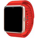 Умные смарт часы с сим-картой 2018 года UWatch Smart GT08 5042 Red, фото 2