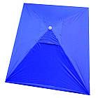 Зонт прямоугольный с ветровым клапаном, Синий, 3 х 2 м., фото 8