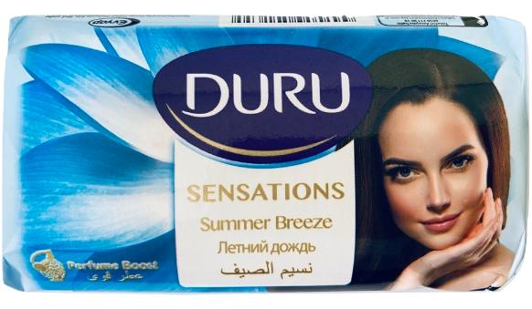"""Туалетное мыло Duru Sensations """"Летний дождь"""" (80г.)"""