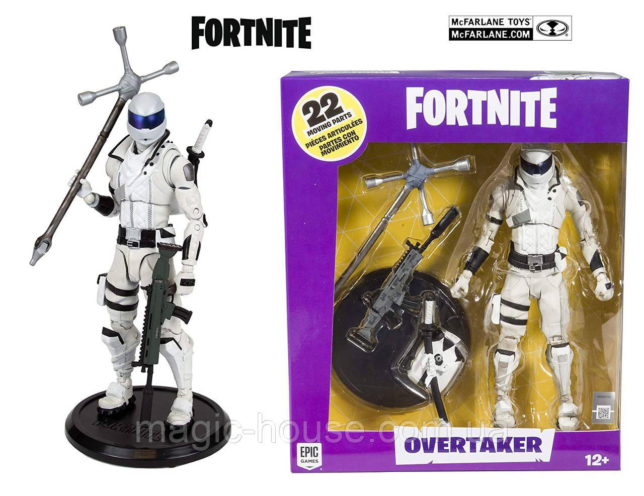 Коллекционная фигурка Фортнайт Овертакер McFarlane Toys Fortnite Overtaker Premium Action Figure оригинал