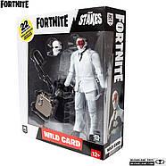 Коллекционная фигурка Фортнайт Вайлд Кард Ред McFarlane Toys Fortnite Wildcard - Red Premium Action Figure, фото 5