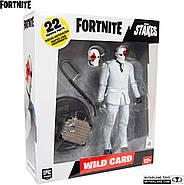 Коллекционная фигурка Фортнайт Вайлд Кард Ред McFarlane Toys Fortnite Wildcard - Red Premium Action Figure, фото 6