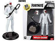 Коллекционная фигурка Фортнайт Вайлд Кард Ред McFarlane Toys Fortnite Wildcard - Red Premium Action Figure, фото 9
