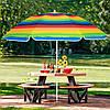 Пляжный зонт с регулируемой высотой и наклоном Springos 180 см BU0009, фото 5