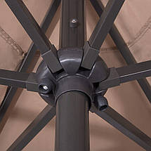 Зонт садовый с LED подсветкой (автономная) Springos 300 см GU0006, фото 3