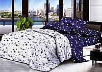 Комплект постельного белья   Космос 2  Бязь Ранфорс GOLD двуспальный