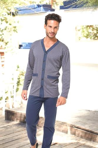 Пижамы мужские, одежда для дома