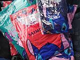 Пижама Трикотажная Футболка и   шортики Стич  Зеленый цвет, фото 2
