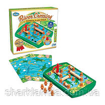Игра-головоломка Переправа | ThinkFun River Crossing 76349