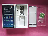 Xiaomi Redmi 8 4/64 Global version Black+стекло+чехол