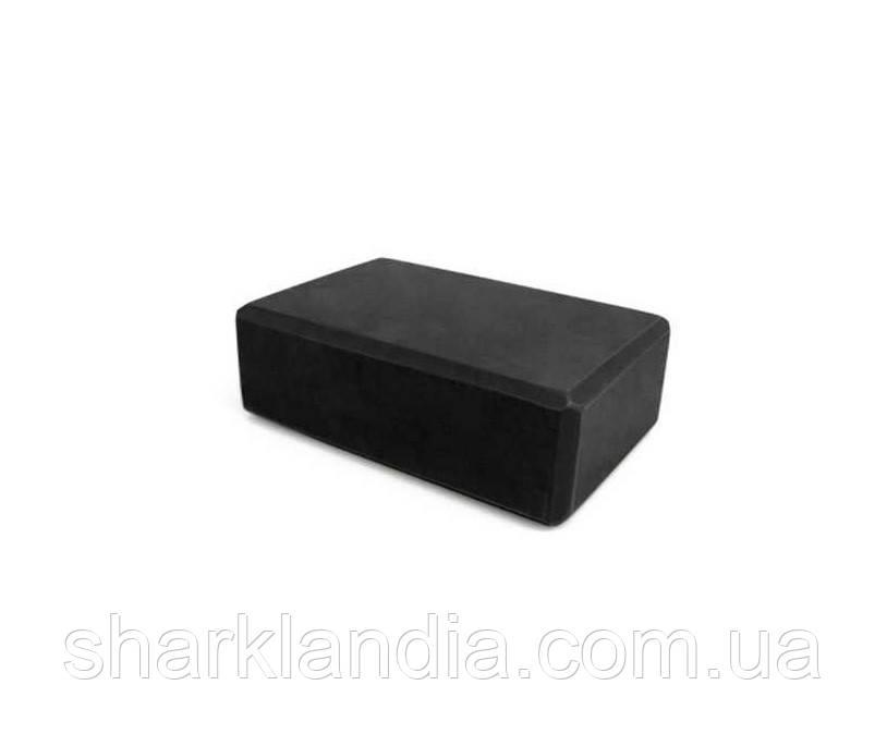 Блок для йоги MS 0858-2 (black)