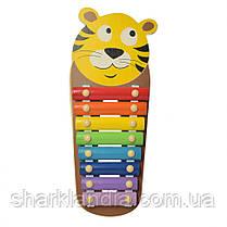 Деревянная игрушка Ксилофон WW-189 (Тигр)