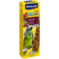 Vitakraft Krаcker крекер для африканских попугаев с орехами и фруктами, 2шт