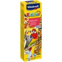 Vitakraft Krаcker крекер для австралийских попугаев с фруктами, 2шт