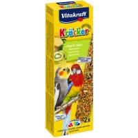 Vitakraft Krаcker крекер для средних попугаев с киви, 2шт
