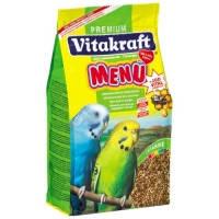 Vitakraft Premium Menu корм для волнистых попугаев, 1кг