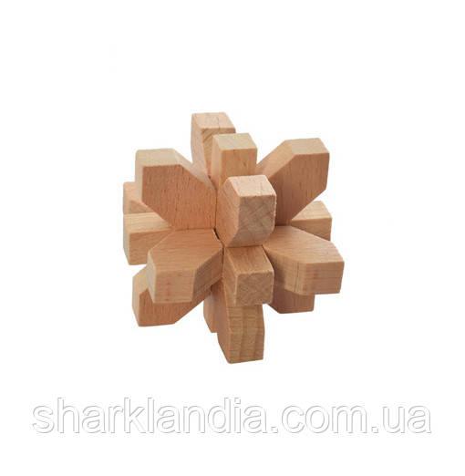 Деревянная игрушка Головоломка MD 2056 (Цветок MD 2056-10)