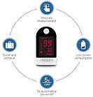 Пульсоксиметр  пальцевой SN-118 на батарейках. Портативный измеритель пульса и уровня кислорода в крови., фото 3