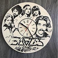 Концептуальные настенные часы 7Arts в интерьер Eagles CL-0336, КОД: 1474477