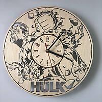 Концептуальные настенные часы 7Arts в интерьер Халк CL-0314, КОД: 1474575