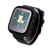 Детские часы с GPS SMART BABY WATCH Q80 (Q60s) Черные