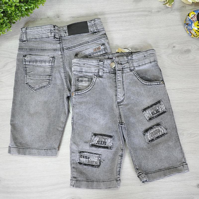 Джинсовые шорты для мальчика от 3-7 лет (5 ед. в уп.)
