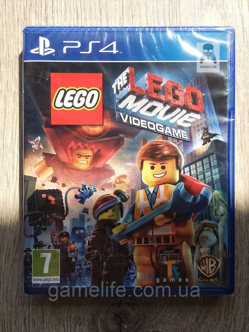 The LEGO Movie Videogame (рус.) PS4