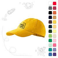Детская (подростковая) кепка под нанесение логотипа, фото 1