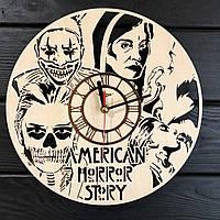 Концептуальные настенные часы 7Arts в интерьер Американская история ужасов CL-0361, КОД: 1474498