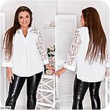 Стильная блуза (размеры 48-66) 0249-36, фото 3