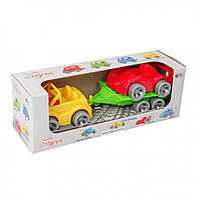 Набор авто Wader Kid cars Sport 3 эл. Кабриолет + гонка 39542, КОД: 1709002