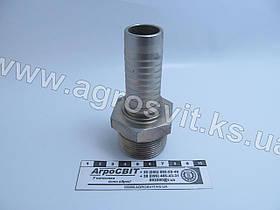 """Штуцер AGR-K 1.1/4""""-11  (под шланг dу=25 мм.)"""