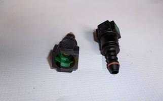 Штуцер топливной трубки ВАЗ ГАЗ инжектор (1шт) (прямой) (пр-во Украина) З 923903