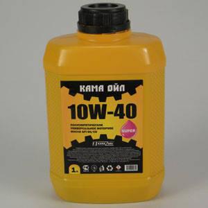 Масло моторное 10W40 1л (пр-во Кама Ойл) АХ 019617, фото 2