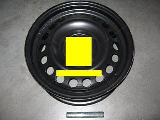 Диск колесный R15х6,0 4x100 Et 45 DIA 56,6 CHEVROLET AVEO черный (пр-во ДК)