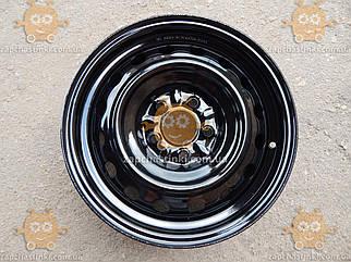 Диск колесный MITSUBISHI LANCER R16х6,5J 5x114,3 Et 46 DIA 67,1 черный (и на другие авто в описании) (пр-во ДК