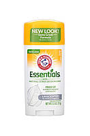 Прозрачный дезодорант без металлов Arm & Hammer Essentials Deodorant with Natural Deodorizers Unscented