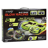 "Трек ""Glow Racing"" / Детские автотреки"