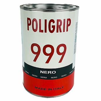 Клей Poligrip 999 Nero (цвет черный) - полиуретановый клей с повышенной термоустойчивость , Италия 1,0 л.
