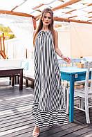 """Платье летнее евро-софт (44-50) """"Gabriela"""" LM-1037-1046"""