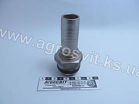 """Штуцер AGJ 1.5/8""""-12  (под шланг dу=25 мм.)"""