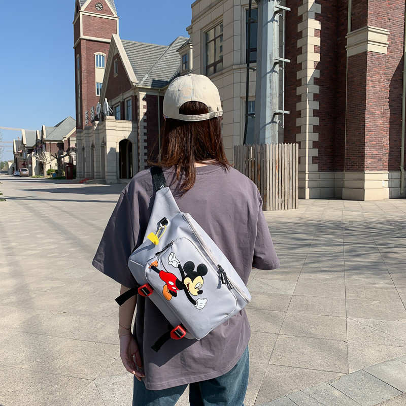 Женская поясная сумка, бананка adidas Mickey