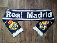 Футбольный шарф Реал Мадрид синий