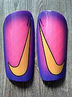 Футбольные Щитки Nike Mercurial Lite розовые replika, фото 1