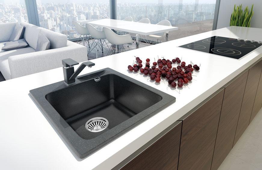 Кухонная мойка AXIS Malibu 20 Серый