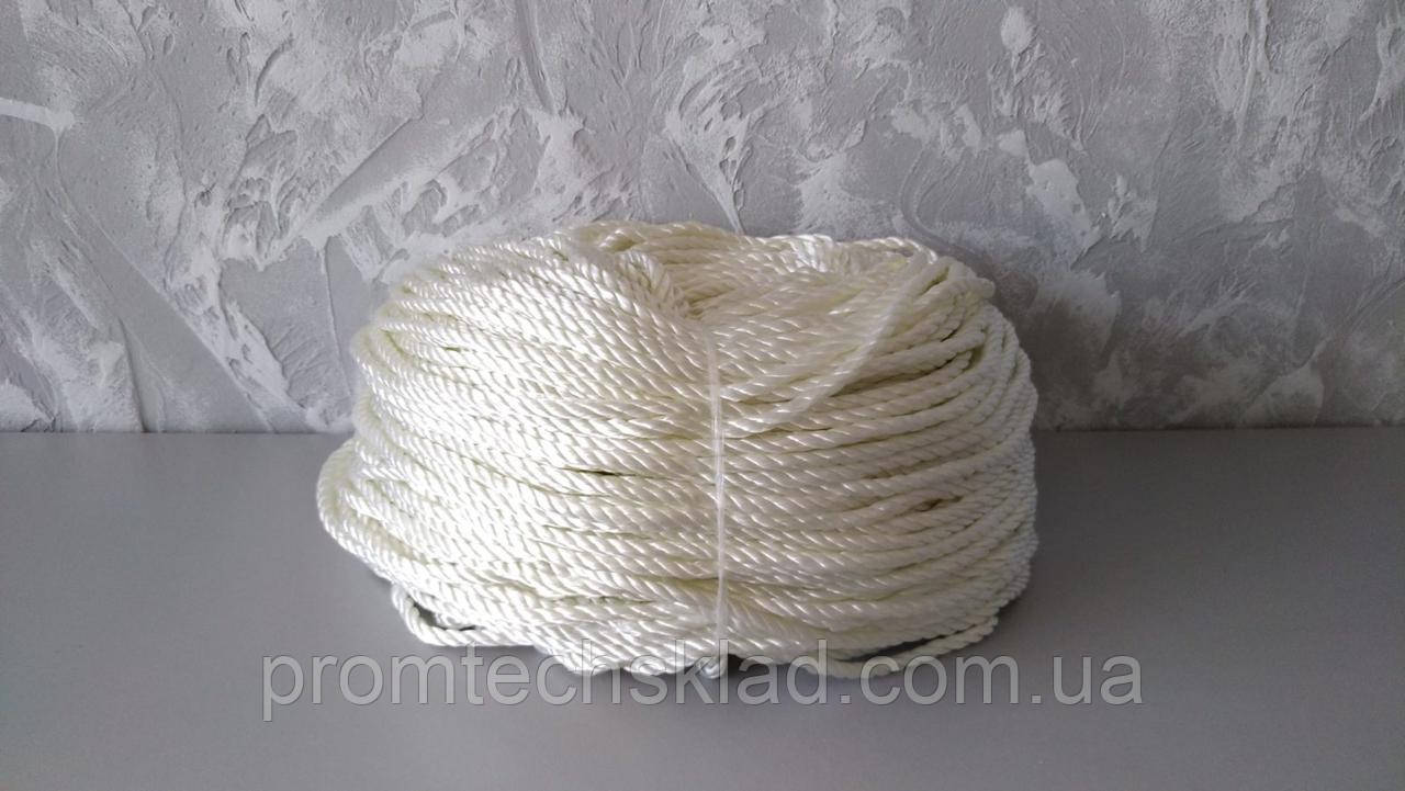 Веревка капроновая (полиамидная) 3 мм - 200 метров