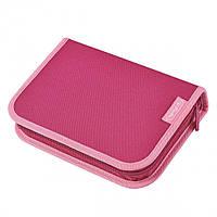 Пенал з наповненням 24 предмети Herlitz Premium Pink рожевий