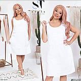 Стильное платье  (размеры 50-54) 0249-86, фото 2